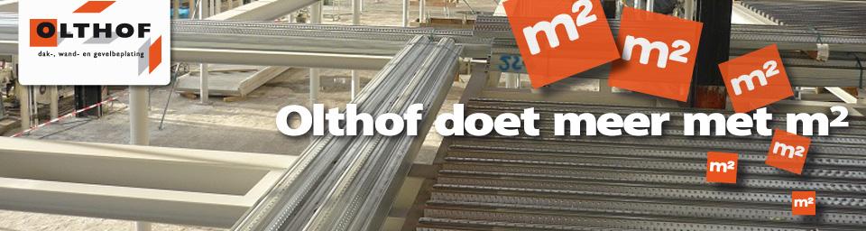Olthof: Staalplaat betonvloer