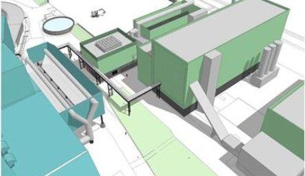 Biomassa Elektriciteits Centrale (BEC) Hengelo Image
