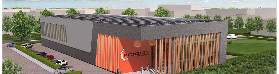 Nieuwbouw Rotomoulding Nijverdal Image