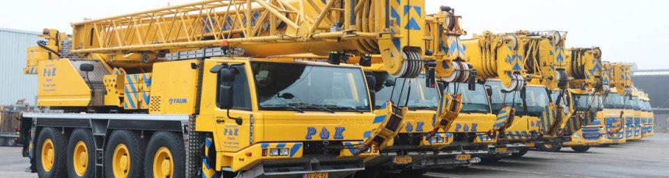 Nieuwbouw P&K Kraanbedrijf te Enter Image